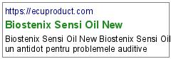 Biostenix Sensi Oil New